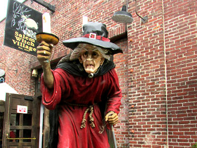 Salem Witch Village